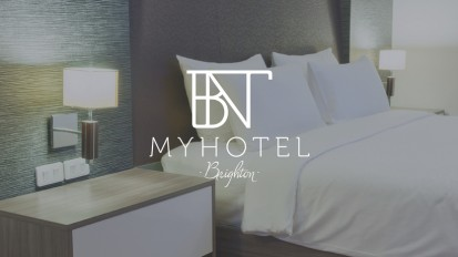 Myhotel London. Logo and website design proposal