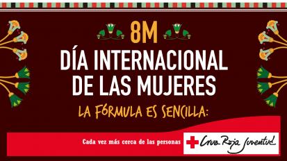 Día Internacional de la Mujer. Cruz Roja Juventud